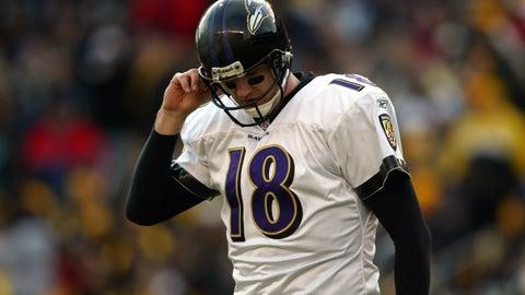 Baltimore Ravens: QB Elvis Grbac (2000)
