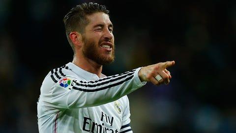 Centerback: Sergio Ramos, Real Madrid