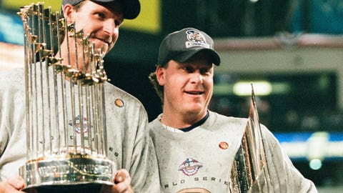 2001 -- Randy Johnson and Curt Schilling