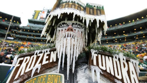 A small replica Lambeau Field -- at Lambeau Field