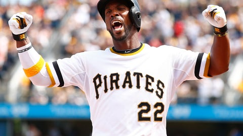 Pirates CF Andrew McCutchen to the Nationals