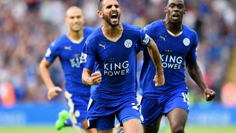 Riyad Mahrez's magic