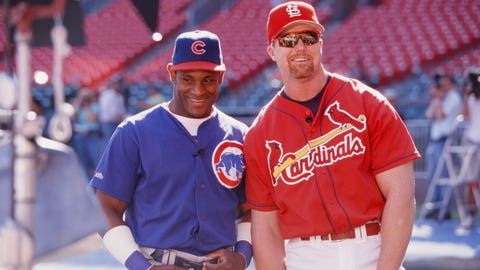 1998 -- Sammy Sosa and Mark McGwire