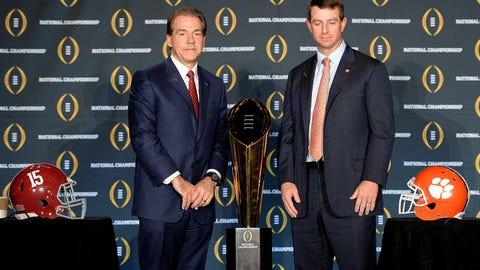 National championship game: Clemson 35, Alabama 31