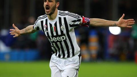 Centerback: Leonardo Bonucci, Juventus