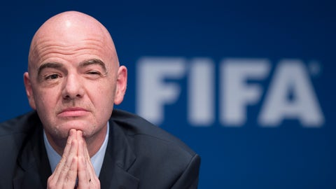 Gianni Infantino and FIFA