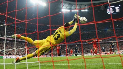Goalkeeper: Jan Oblak, Atletico Madrid