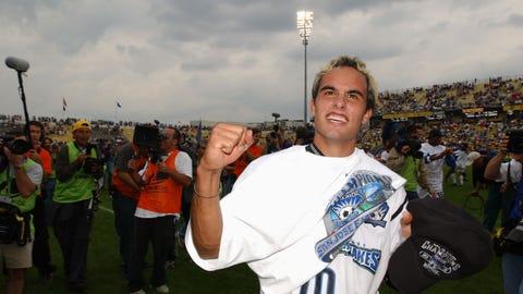 2001: San Jose Earthquakes 2, LA Galaxy 1