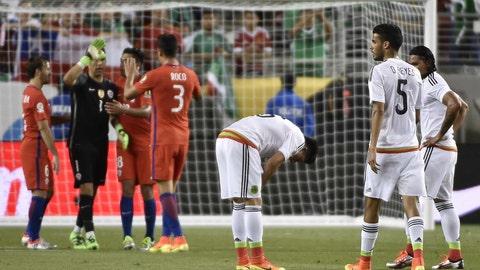 Chile 7, Mexico 0