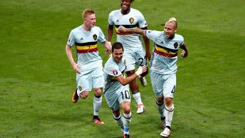 Belgium: 5 (Previously No. 5