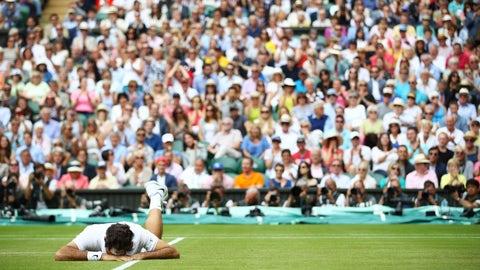Roger Federer's last, best Grand Slam shot