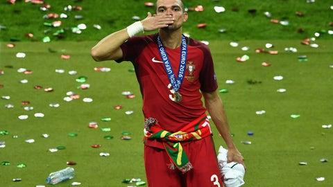 9 (Tied) - Pepe