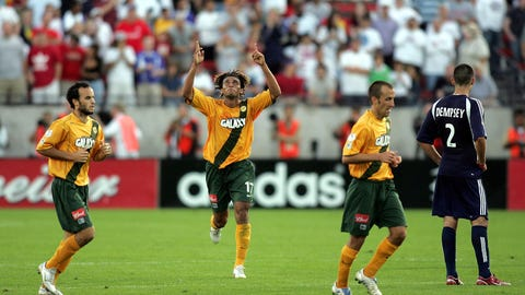 2005: LA Galaxy 1, New England Revolution 0