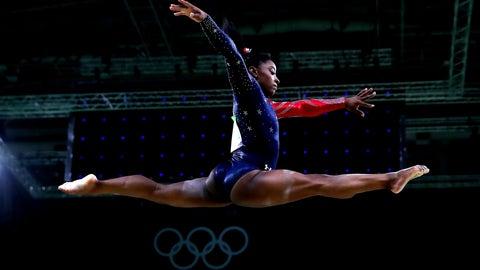 Simone rules Rio