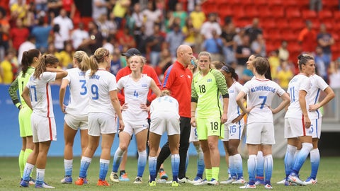 Hope Solo and the United States women's national soccer team