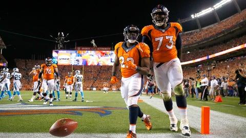 Hardest schedule: Denver Broncos (8-4, No. 6)
