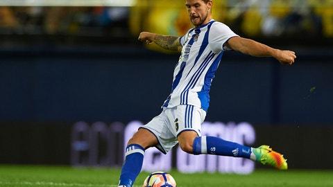 Spain centerback: Inigo Martinez