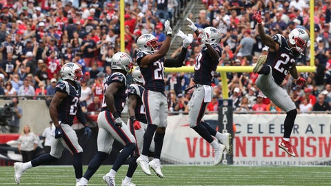 3rd-easiest: New England Patriots (10-2, No. 2)