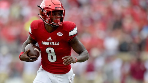 Lamar Jackson, Louisville quarterback