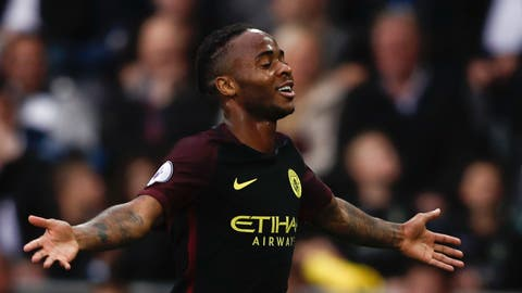Right wing: Raheem Sterling