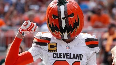 A pumpkinhead in Cleveland