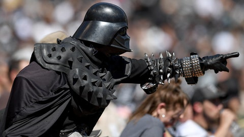 It's Darth Vader out in Oakland'