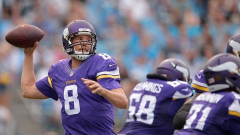 Sam Bradford, QB, Minnesota Vikings