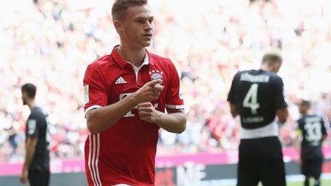 Right back: Joshua Kimmich, Bayern Munich