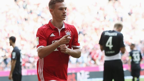 Right back: Joshua Kimmich, Bayern Munich