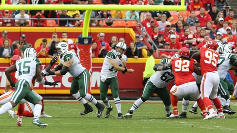 Ryan Fitzpatrick vs. Kansas City Chiefs, 6 interceptions, 24-3 loss (Week 4)