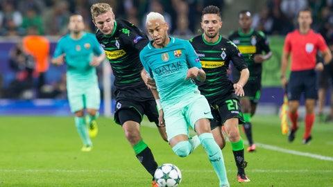 Barcelona vs. Borussia Monchengladbach