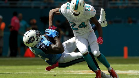 October 8: Tennessee Titans at Miami Dolphins, 1 p.m. ET