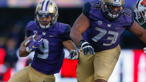 The Huskies' run game can create balance
