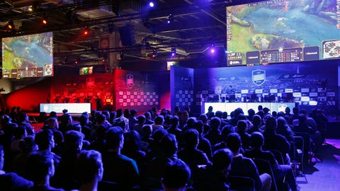 Acting like you're too cool to know what eSports are