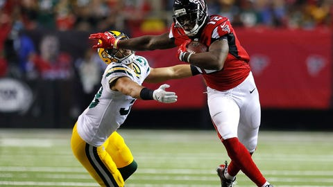 Mohamed Sanu, WR, Falcons (groin