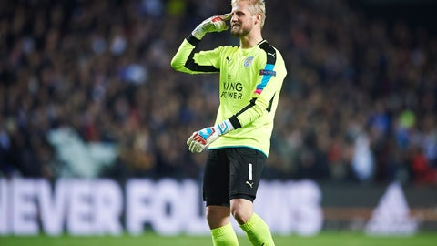 Leicester City — Kasper Schmeichel