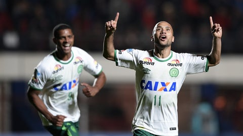 Chapecoense's incredible run to the Copa Sudamericana final
