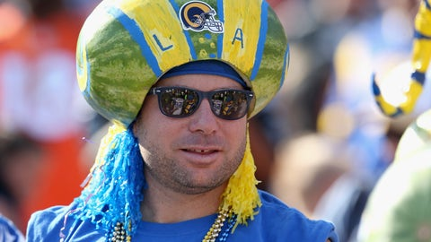 The tradition continues: a modern-day melonhead
