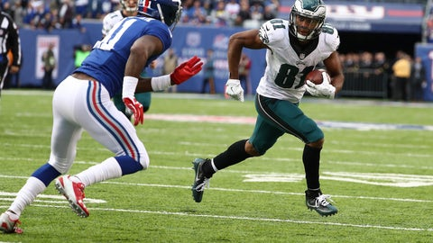 Jordan Matthews, WR, Eagles (ankle)