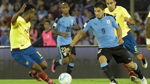 Uruguay: 9 (Previously No. 9)