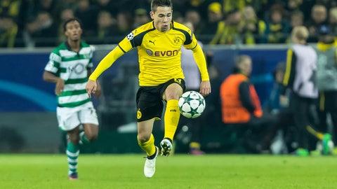 Midfielder: Raphael Guerreiro, Borussia Dortmund