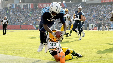 Titans WR Kendall Wright pulls the same trick against Green Bay