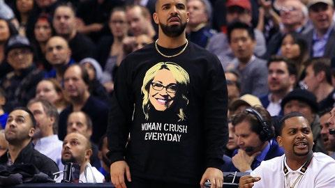Drake: big fan of the Giants