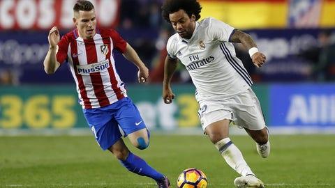 Leftback: Marcelo (Real Madrid)