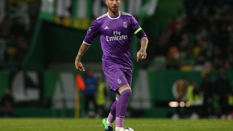 Centerback: Sergio Ramos (Real Madrid)