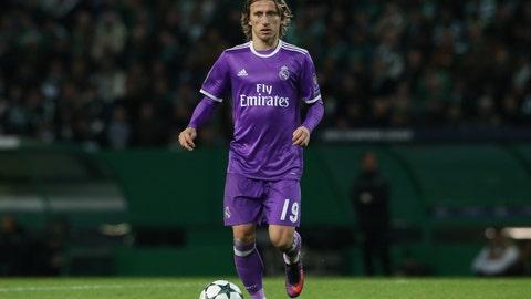 Midfielder: Luka Modric (Real Madrid)