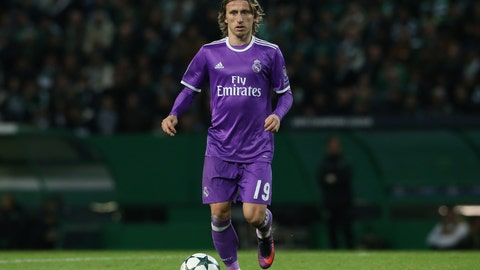 Midfielder: Luka Modric (Real Madrid)