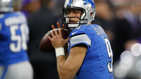 "Matthew Stafford: ""Not missing you"""