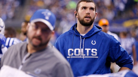 "Andrew Luck: ""Practice safe sacks"""