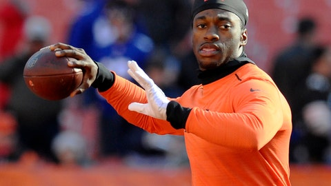 Robert Griffin III, QB, Browns (shoulder)
